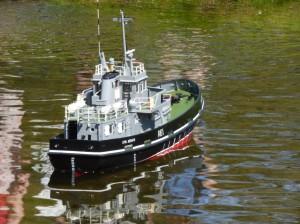 Loyal Mediator Fleet Tender built by Kev Harris